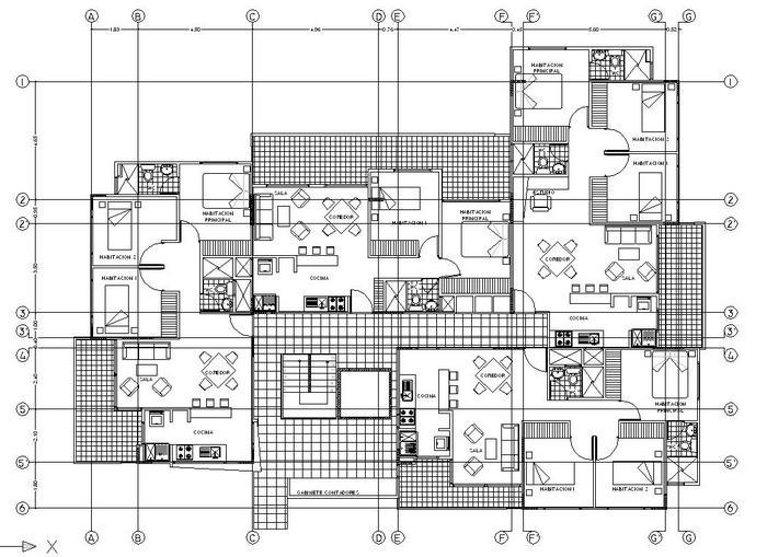 Servicios vision grafica for Plano de planta dibujo tecnico